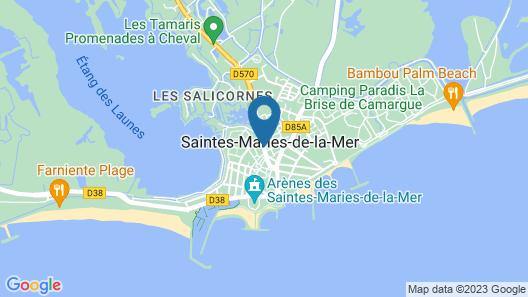 Auberge Cavalière du Pont Des Bannes Map