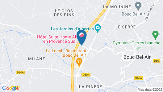 Residence Suite Home Aix-en-Provence Sud Map
