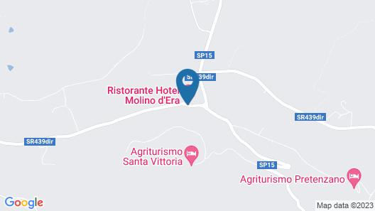 Hotel Ristorante Molino d'Era Map