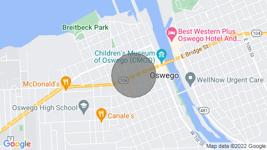 Beacon Hotel Map