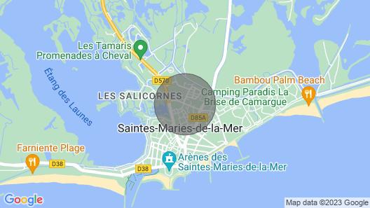 Studio Saintes-Maries-de-la-Mer Map