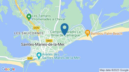 Camping La Brise Map