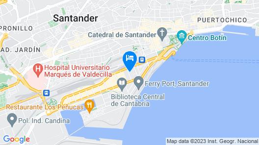Hotel Bedoya Map