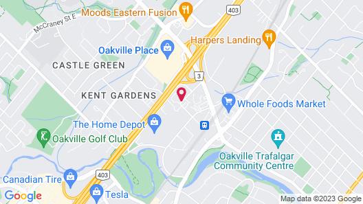 Holiday Inn Oakville Centre, an IHG Hotel Map