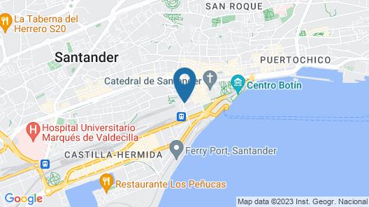 Cabo Mayor Map