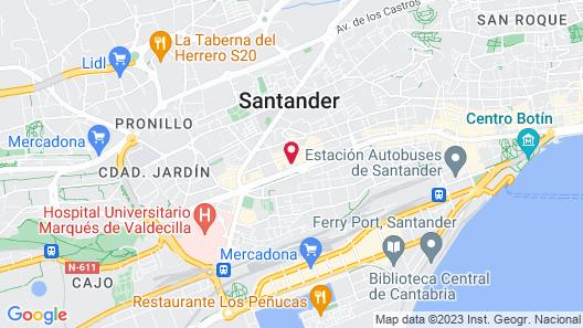 Estudios Aranzazu Map