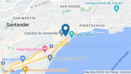 Hotel Bahia Map