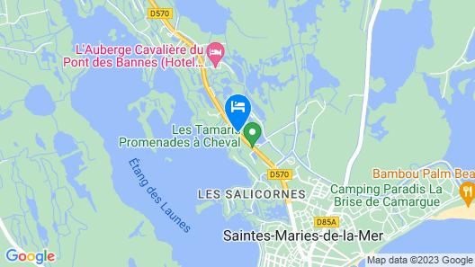 Les Arnelles Map