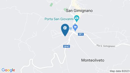 Relais Santa Chiara Hotel Map