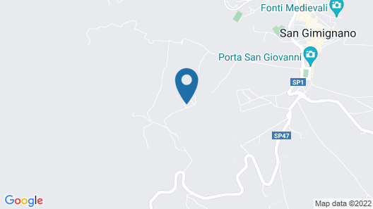 Podere Bellavista Map