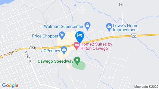 Home2 Suites by Hilton Oswego Map