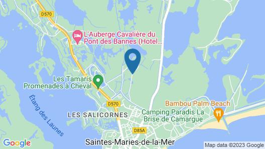 Mas des Rièges & Spa Map