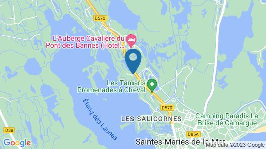 Hôtel La Palunette Map