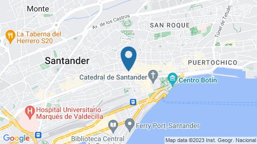 Hospedaje Menendez Pelayo Map