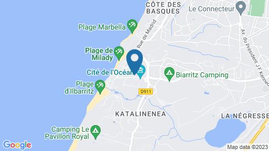 Résidence Prestige Odalys Villas Milady Map
