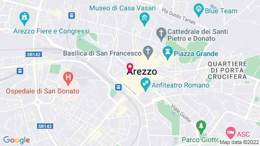 Hotel Continentale Map