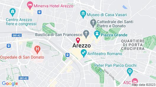 Vogue Hotel Map
