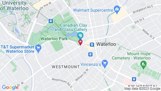 Delta Hotels by Marriott Waterloo Map