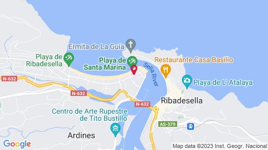 Gran Hotel del Sella Map