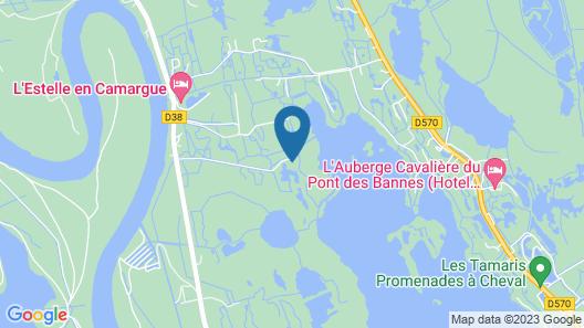 Mas de la Fouque Hôtel & Spa Map