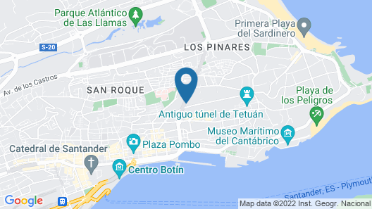 Royal Suite Santander Map