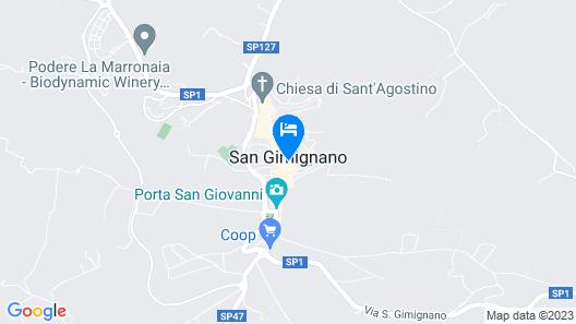 B&B Palazzo Tortoli Map
