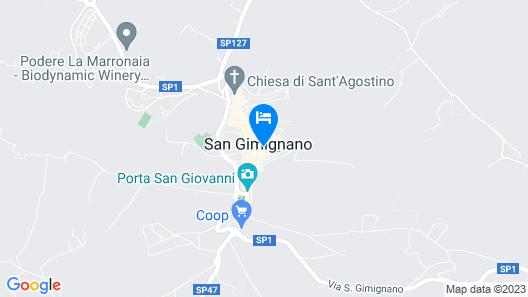 La Cisterna Map