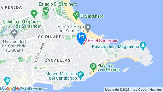Hotel Santemar Map