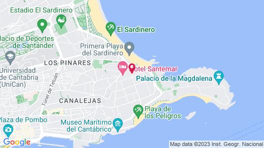 Hotel Apartamentos Don Carlos Map