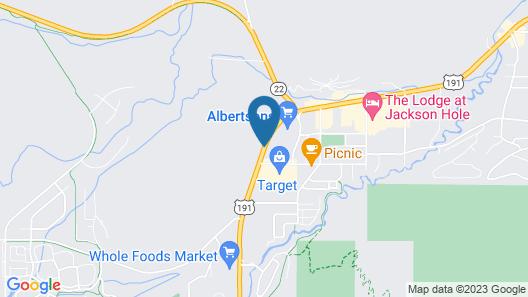 Hampton Inn Jackson Hole Map