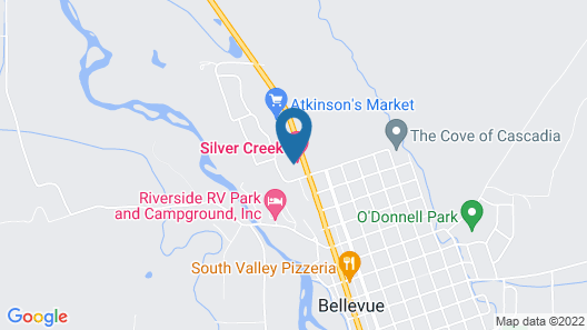 Silver Creek Hotel Map