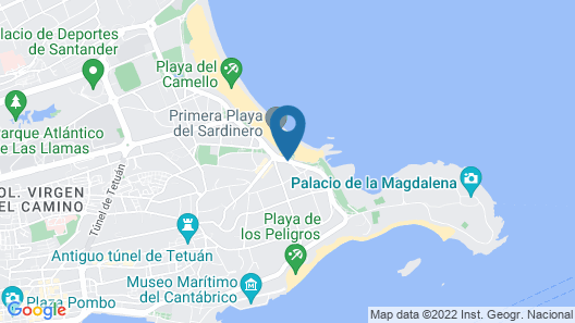 Hotel Silken Rio Santander Map