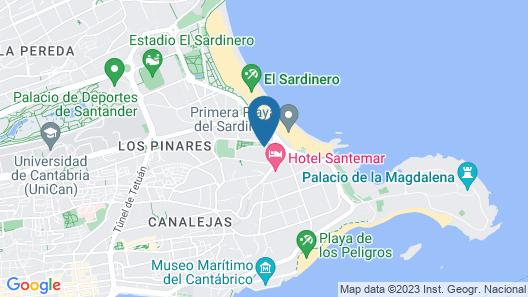 Hotel Hoyuela Map