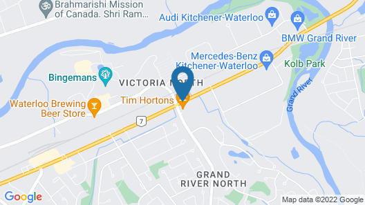 Kitchener Motel  Map