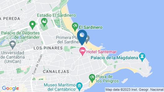 Gran Hotel Sardinero Map