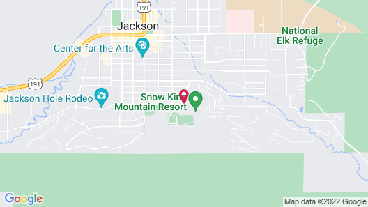 Snow King Resort Hotel & Luxury Residences Map