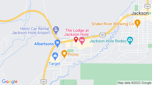The Wyoming Inn of Jackson Hole Map