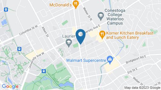 Backpacker College @ Wilfrid Laurier University Map