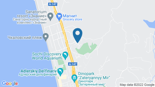 Guest House Klever Map