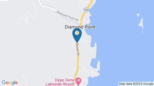 Amber Lantern Lake George Motel and Cottage Rentals Map