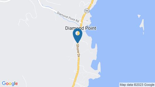 Adirondack Diamond Point Lodge Map