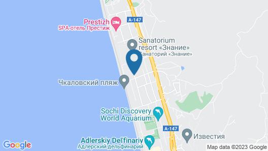 Villa Deja Vu Map