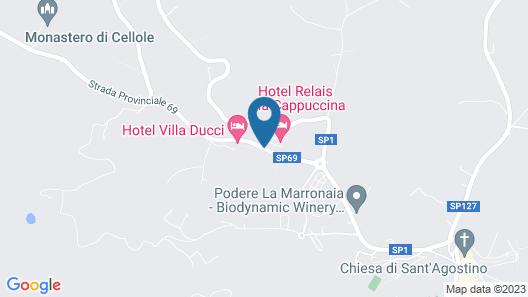 Relais Cappuccina Ristorante Hotel Map