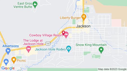 Cowboy Village Resort Map