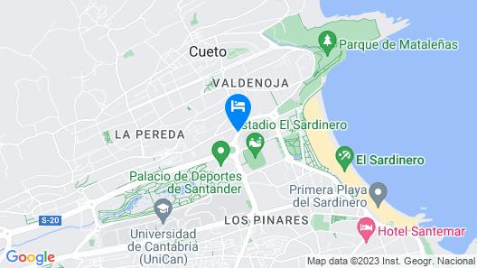Hotel Sercotel Suite Palacio del Mar Map