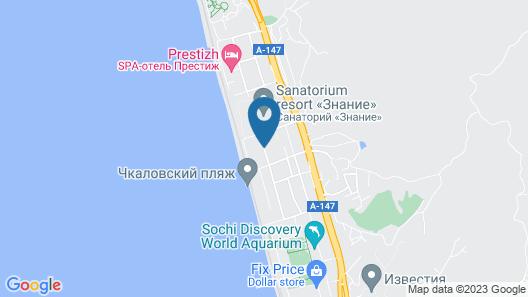 Ekodom Adler 3*, Hotels&SPA Map