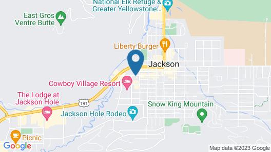 49'er Inn & Suites Map