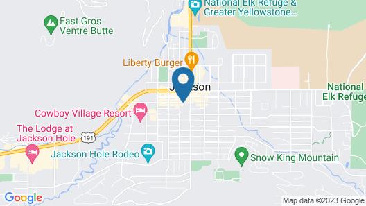 Antler Inn Map