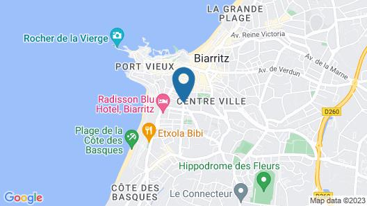 Hotel Edouard VII Map