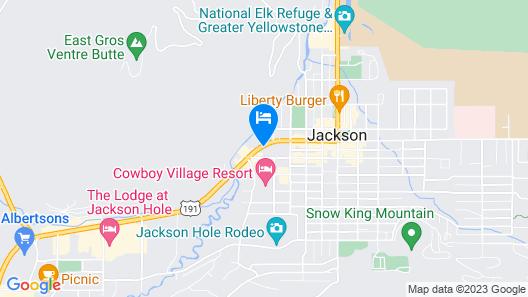 Jackson Hole Lodge Map